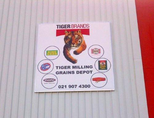 Factory Signage – Tiger Brands