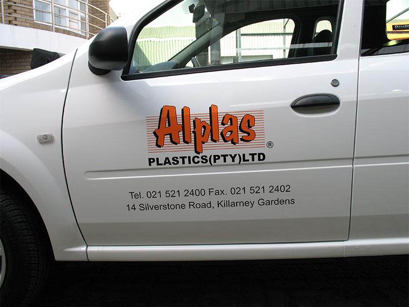 Vehicle Signage - Alplas